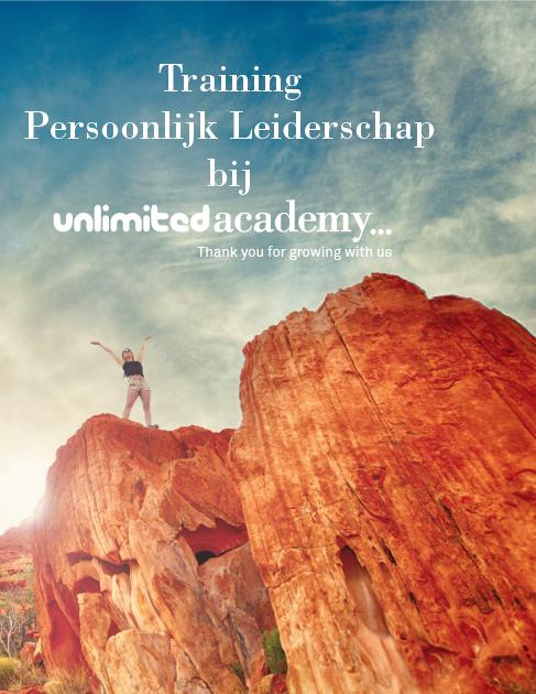 Boek Traiing Persoonlijk Leiderschap